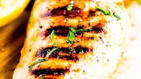 lemon garlic grilled chicken