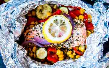 Salmon Foil Packets Image TK