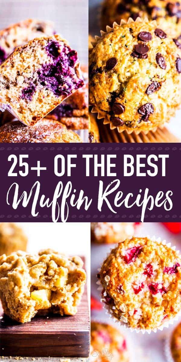 Best Muffin Recipes Pin 1