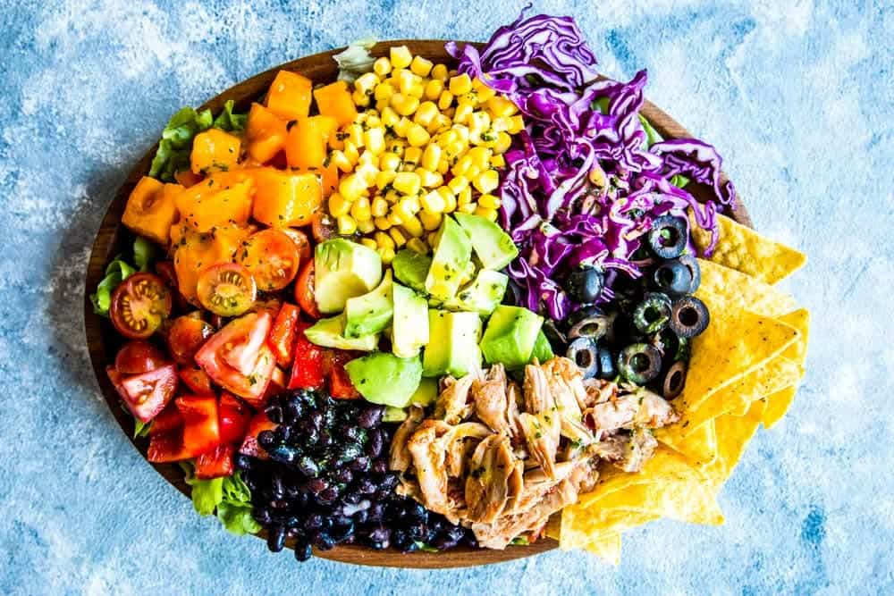 Chicken Taco Salad Image TK