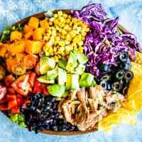 The Ultimate Chicken Taco Salad