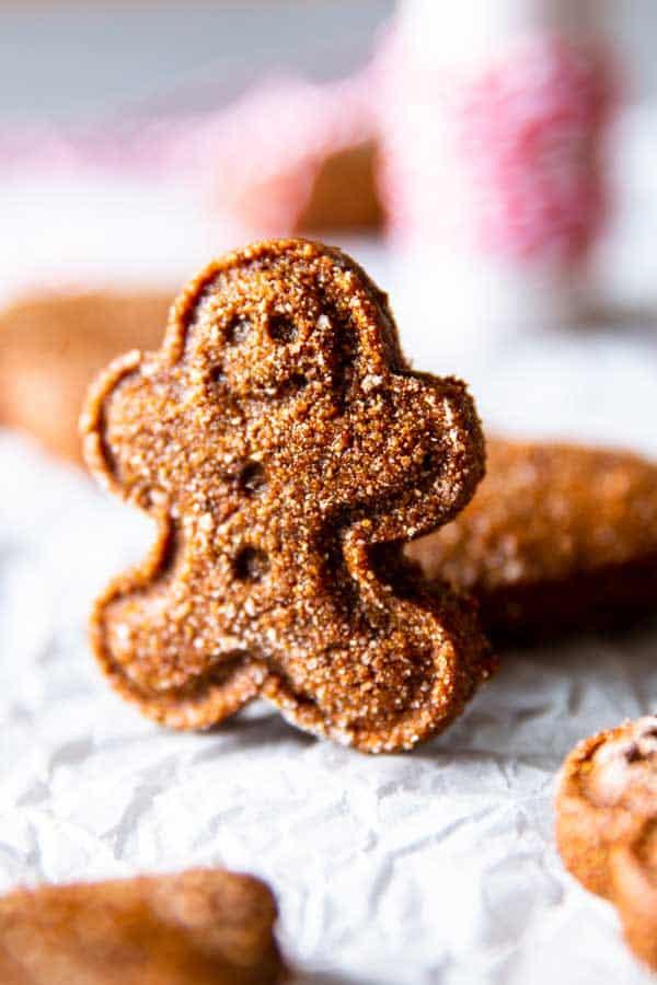 tiny gingerbread man
