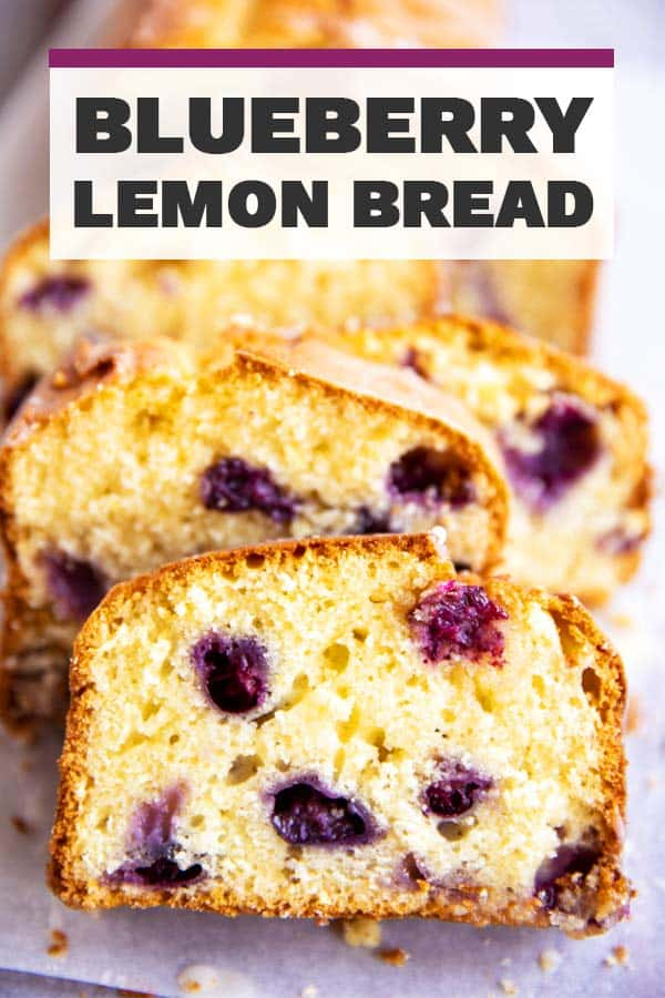 Lemon Blueberry Bread Image Pin 1