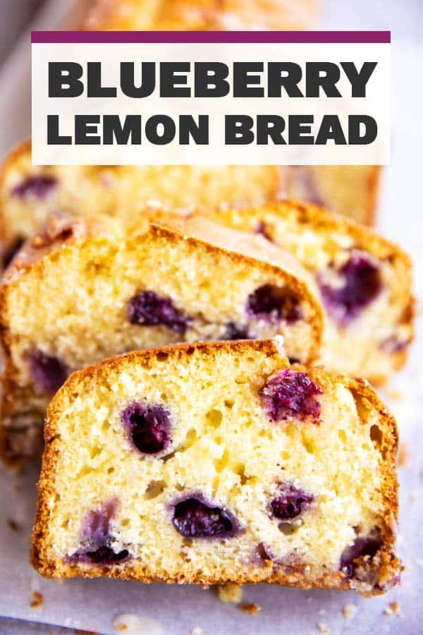 Lemon Blueberry Bread Image Pin 1