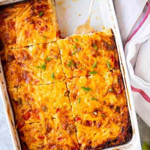 sliced hashbrown casserole