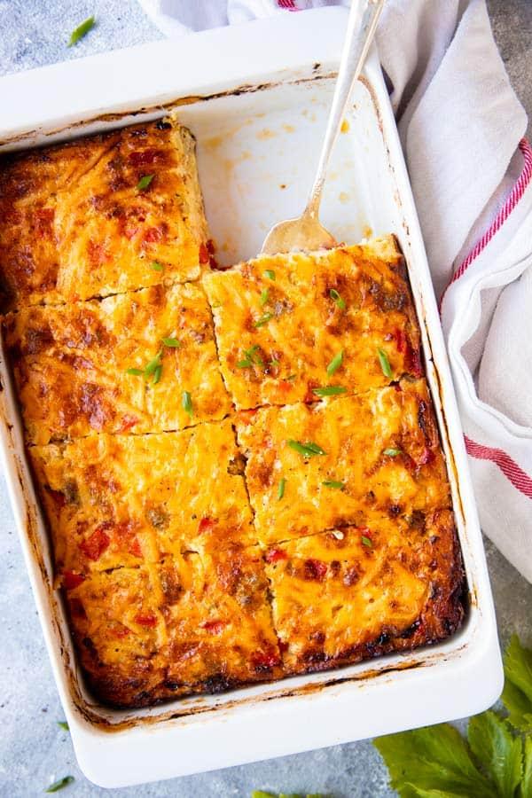 sliced hashbrown casserole