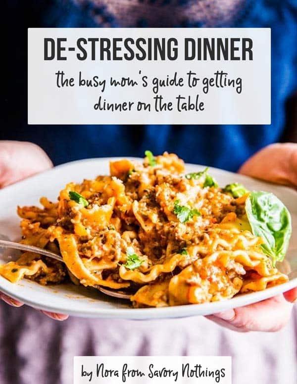 De Stressing Dinner Cover