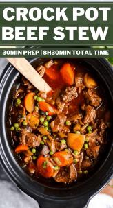 Crock Pot Beef Stew Pin