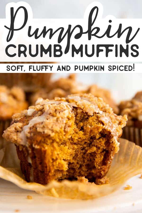 Pumpkin Crumb Muffins Pin 2