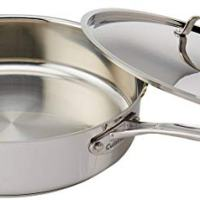 Cuisinart Chef's Classic Stainless 5-1/2-Quart Saute Pan