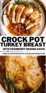 Crockpot Cranberry Turkey Breast Pin 1