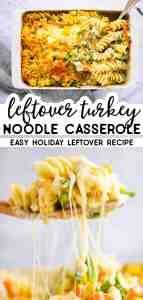 Turkey Noodle Casserole Pin