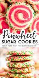 Pinwheel Sugar Cookies Image Pin 1