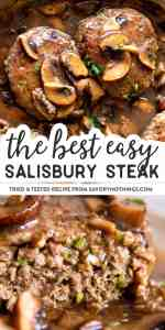 Salisbury Steak Image Pin