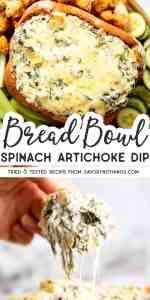 Spinach Artichoke Dip Image Pin