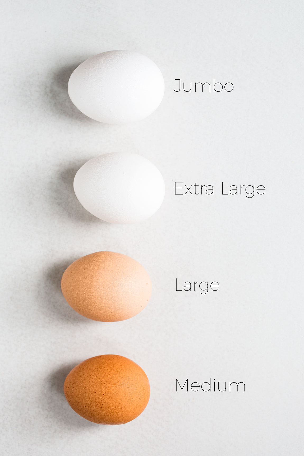 Why Egg Size Matters in Baking {Why We Use Large Eggs ...