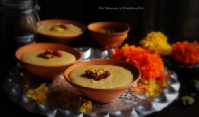 Rice Phirni with Vanilla using SPRIG sugar