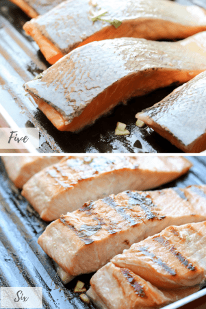 Honey Garlic Salmon-savory-thoughts-3