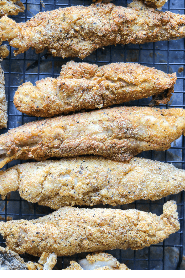 Pan Fried Whiting Fish