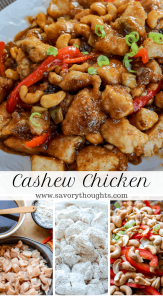 Easy low carb cashew chicken recipe. Gluten-free. Ready in 20 minutes. Get the full recipe at www.savorythoughts.com | @Msavorythoughts