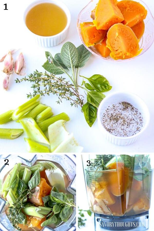 ingredients-step by step guide