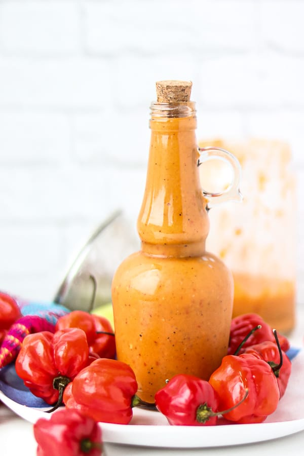 Ti Malice sauce in a bottle