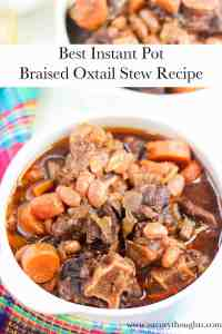 braised oxtail stew recipe painters pin in white bowl