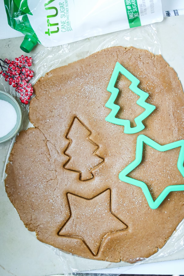 Christmas Molasses Cookies