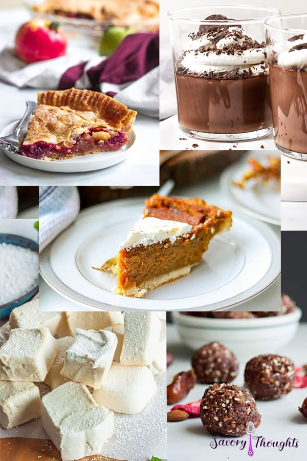 Holiday Dessert Recipes - These easy holiday dessert recipes will have you entertaining all season long. From decadent pies to mouthwatering cookies, and homemade marshmallows to everything in between, these holiday treats are some of the greatest treasures that help make the holiday season.