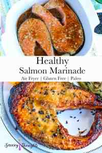 Healthy salmon Pinterest pin