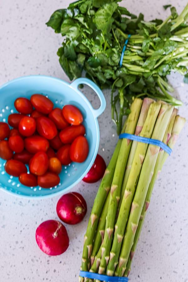 Asparagus Salad Ingredients