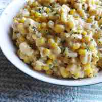 Cream Style Corn (Quick Creamed Sweetcorn)