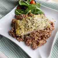 Baked Mahi Mahi Recipe with Lemon Butter Sauce
