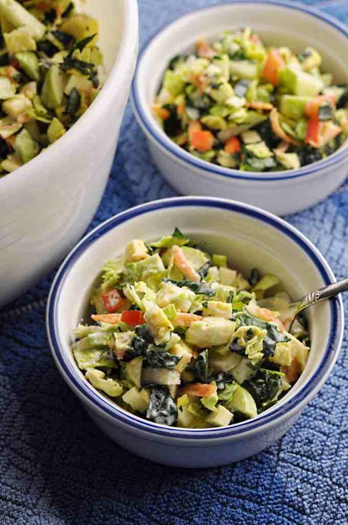 Brussel Sprout Kale Salad