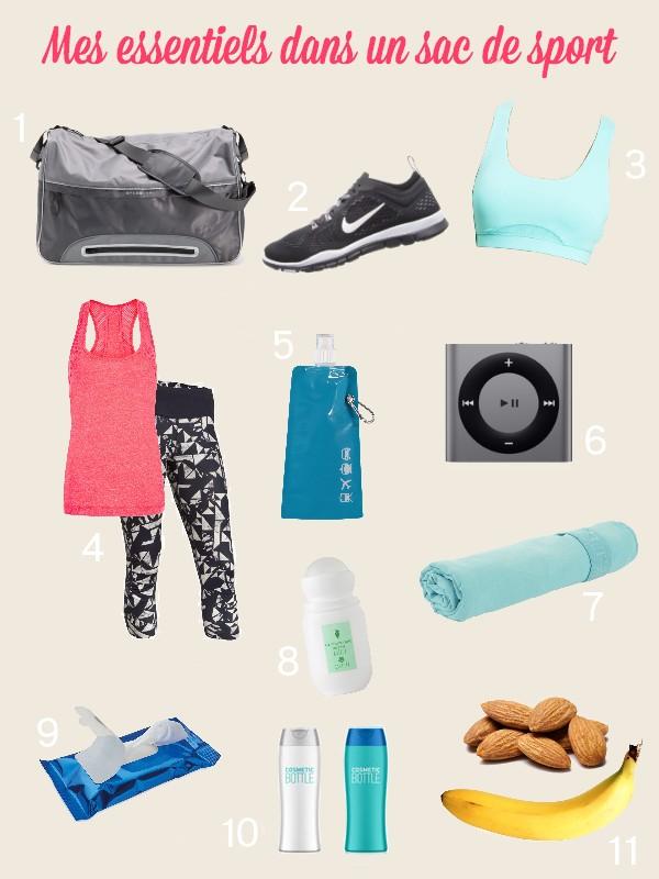 sac sport essentiels