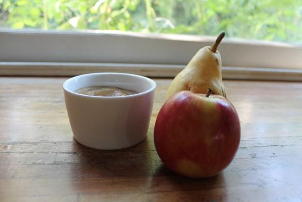 compote pomme poire