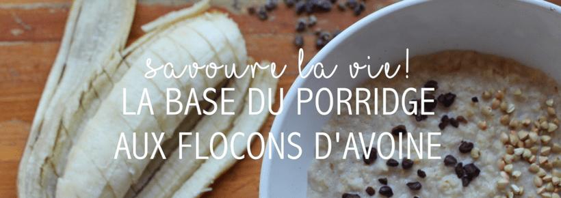 oatmeal porridge toppings ingredients