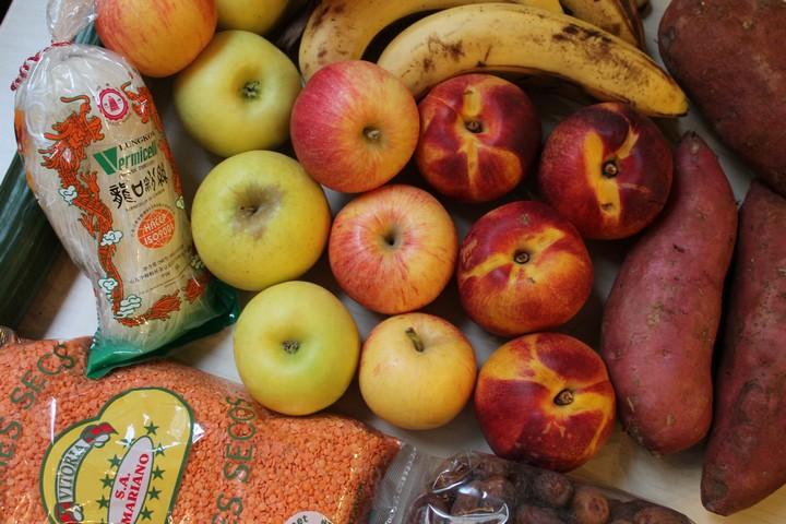 food haul légumes et fruits