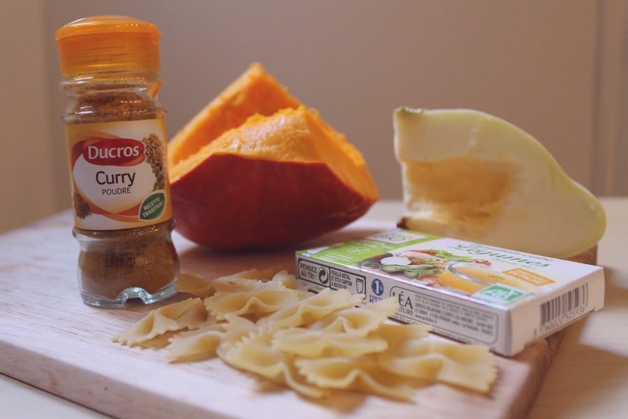 recette de one pot pasta rapide au potimarron