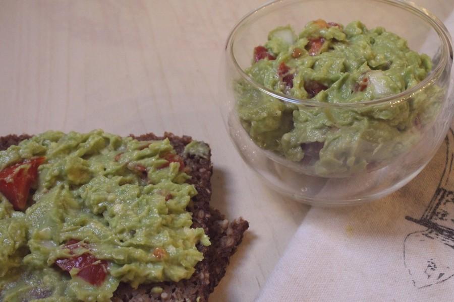 guac on toast simple easy quick vegan
