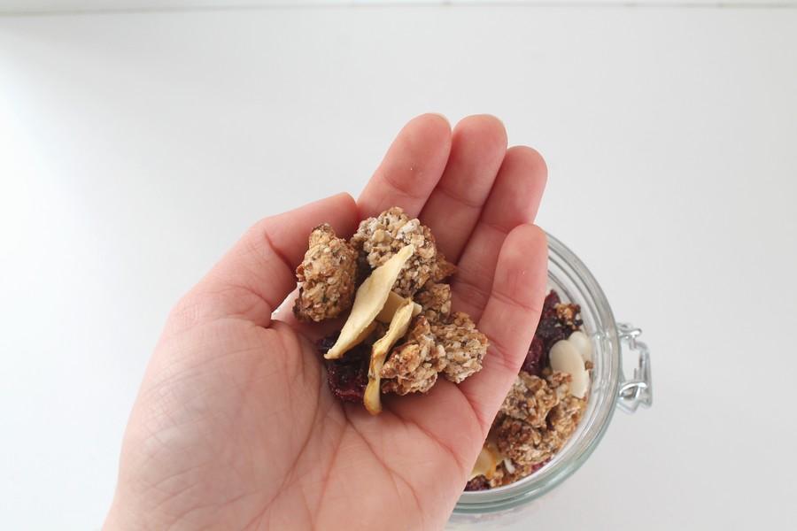 recette-granola-pomme-cranberry-hiver