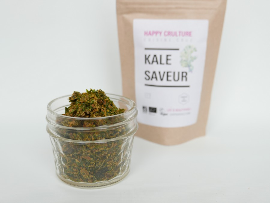 Kale saveur paillettes de kale