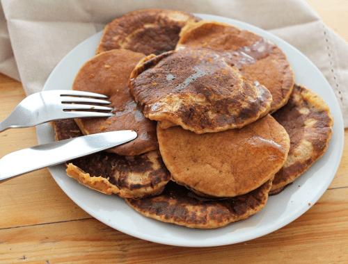 pancakes patate douce sirop erable
