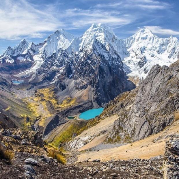cordillere des andes perou region montagneuse
