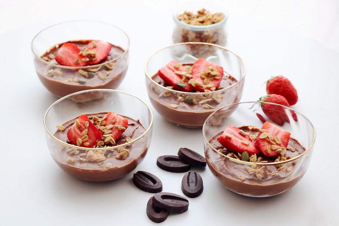 recette creme dessert chocolat facile