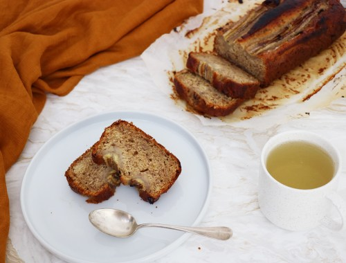 banana bread facile rapide vegetarien