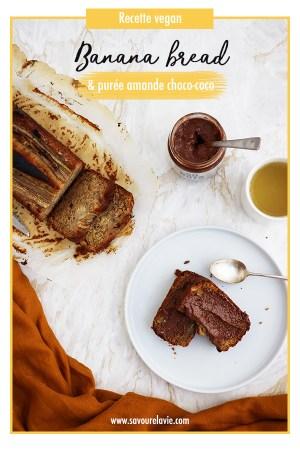 recette de banana bread vegan pinterest