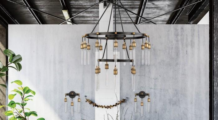campbell 21 light chandelier