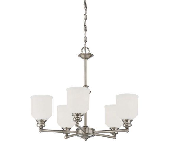melrose 5 light chandelier