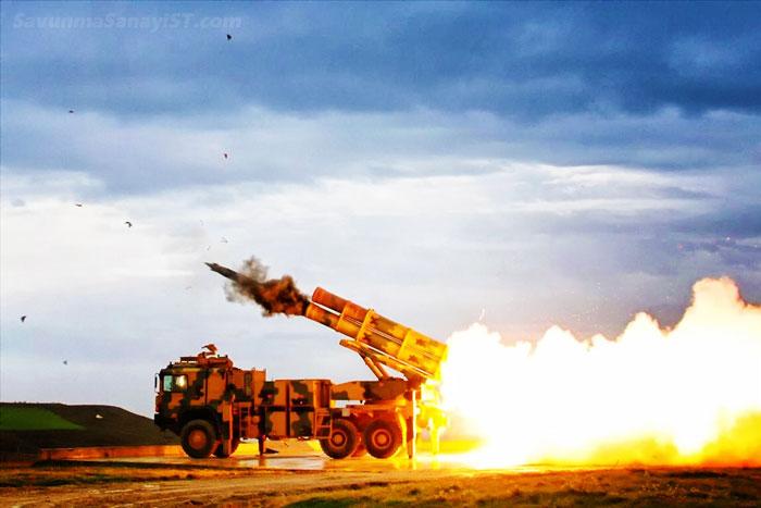 Türk Kara Kuvvetleri Envanterindeki Yerli Füzeler